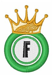 Bingo King F embroidery design