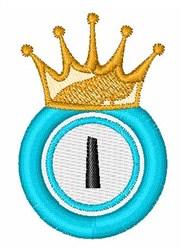 Bingo King I embroidery design