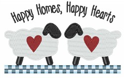 Happy Homes embroidery design