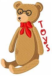 Toy Bear embroidery design