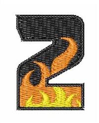 Blaze Font 2 embroidery design