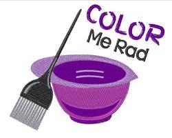 Color Me Rad embroidery design