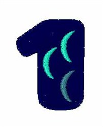 Fishy Font 1 embroidery design
