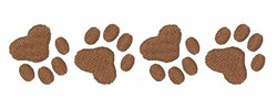 Dog Paws embroidery design