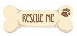 Rescue Me embroidery design