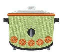 Crock Pot embroidery design