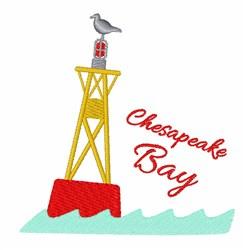 Chesapeake Bay embroidery design