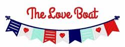 The Love Boat embroidery design