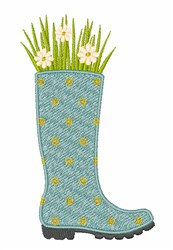 Wellington Bouquet embroidery design