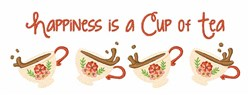 Happiness Is A Cup embroidery design