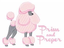 Prim & Proper embroidery design