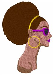 Afro Style embroidery design