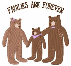 Families Are Forever embroidery design
