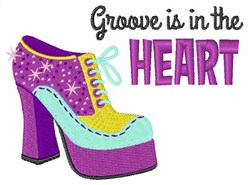 Groove In The Heart embroidery design