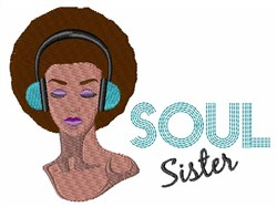 Soul Sister embroidery design