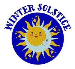 Winter Solstice embroidery design