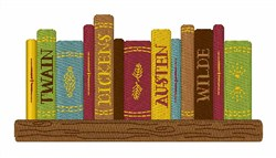 Classic Authors embroidery design
