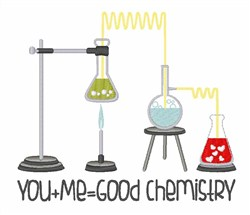 Good Chemistry embroidery design