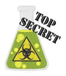 Top Secret embroidery design