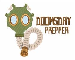 Doomsday Prepper embroidery design