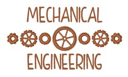 Mechanical Engineering embroidery design