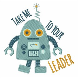 Take Me To Leader embroidery design