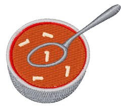 Alphabet Soup Font 1 embroidery design