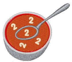 Alphabet Soup Font 2 embroidery design