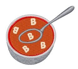 Alphabet Soup Font B embroidery design