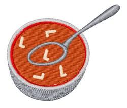 Alphabet Soup Font L embroidery design