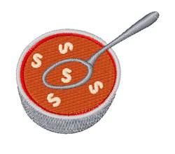 Alphabet Soup Font S embroidery design