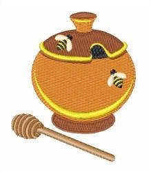 Honey Pot embroidery design