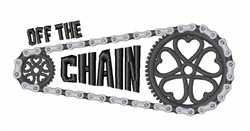 Off The Chain embroidery design