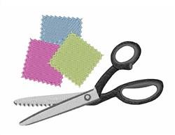 Quilt Scissors embroidery design