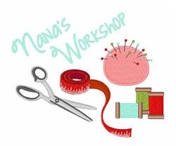Nanas Workshop embroidery design
