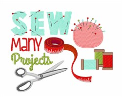 Sew Many Projects embroidery design