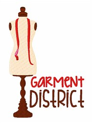 Garment District embroidery design