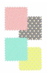 Fabric Patches embroidery design