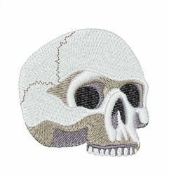 Halloween Skull embroidery design