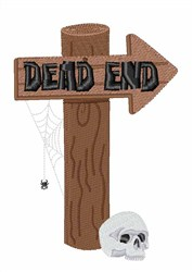 Dead End embroidery design