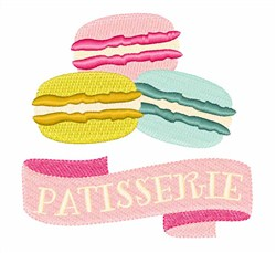 Patisserie Cake embroidery design