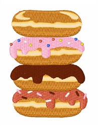 Sweet Donuts embroidery design