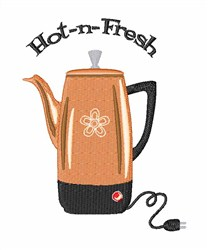 Hot-n-Fresh embroidery design