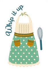 Whip It Up embroidery design