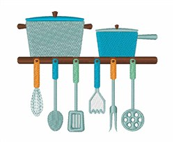 Cooking Pots embroidery design