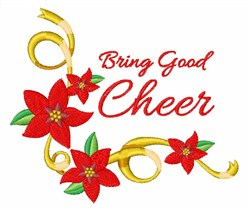 Bring Good Cheer embroidery design