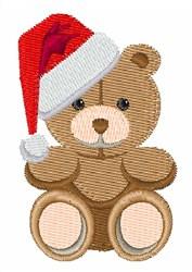 Christmas Teddy embroidery design