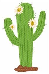 Desert Cactus embroidery design