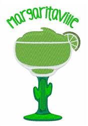 Margaritaville embroidery design
