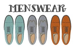 Menswear embroidery design